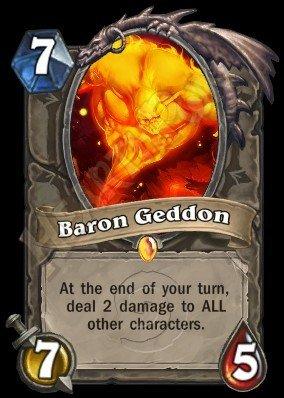炉石传说迦顿男爵厉害吗 迦顿男爵技能属性