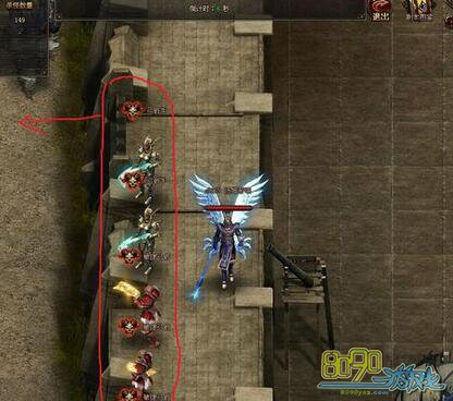 大天使之剑守卫大陆完美房间单人上锁-80未详解的图文2攻略简单模式过关图片