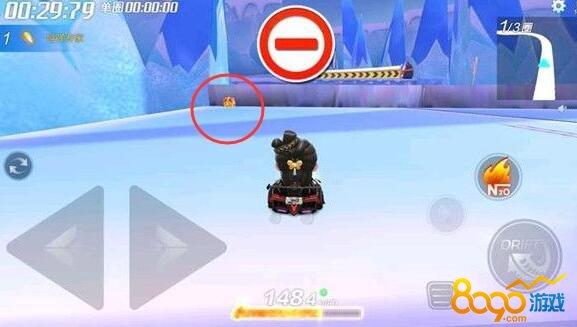 跑跑卡丁车在冰雪企鹅岛找到隐藏宝藏怎么做